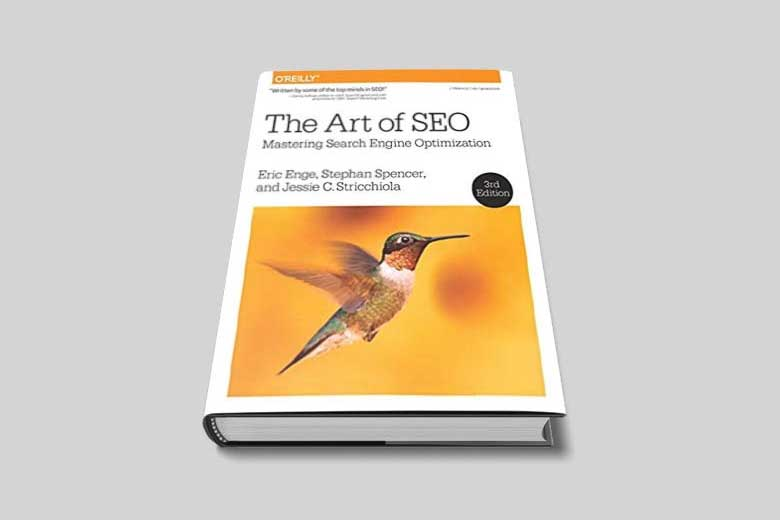 The cover of the book The Art of SEO