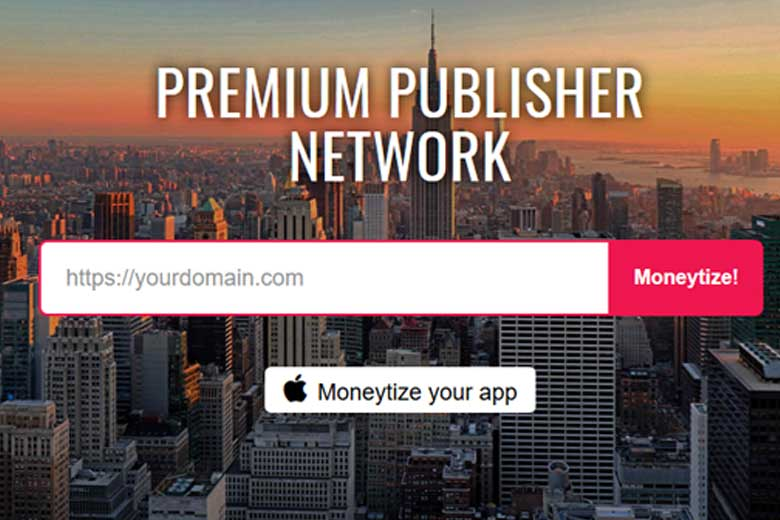 The Moneytizer platform that helps bloggers earn passive income